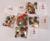 Buttons: assorted packs