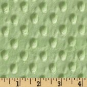 Minkee Blankee - green with raised dots