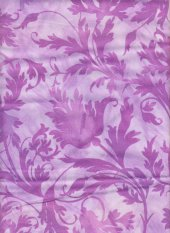 Alex Anderson: Whisperings: Purple floral