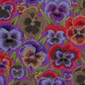Pansies: Purple