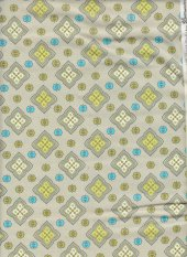 Gypsy by Stepping Stones: neutral background with little motif