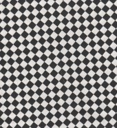 Joined at the Hip: Black and White checkerboard